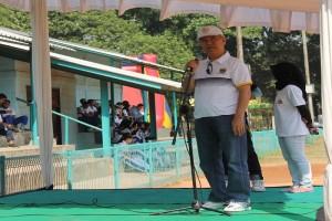 sambutan wakil ketua KONI
