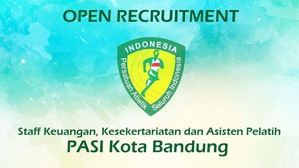 Open Rekrutmen Staff PASI Kota Bandung