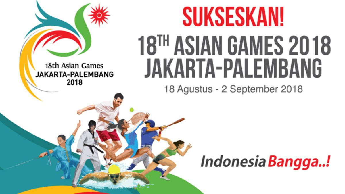 Asian Games XVIII/2018 Hanya Gelar 36 Cabor